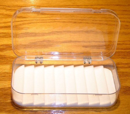 Dewitt Ripple Foam Clear Acrylic Fly Boxes available at Traditional Angler